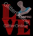 Transfer GO 234-D Love Stamping ss10 - ss 6